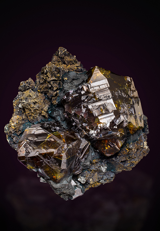 Sphalerite - China